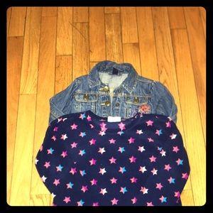 Toddler Girls Jacket/Sweater Bundle Size 4T